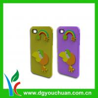 Buy cheap Any Color Eco-friendly Cell Phone Silicon Cases For iphone 4 / 4s With Customized Logo from wholesalers