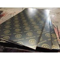 Buy cheap 18mm Marine Plywood Marine Board Film Faced Plywood for Building Construction from wholesalers
