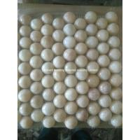 Buy cheap Honey Onyx Marble Mosaic Tiles Half Ball Design from wholesalers