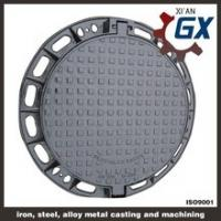 Buy cheap BS EN124 Ductile Iron Cast Iron Manhole Covers Dimensions from wholesalers