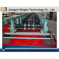 Buy cheap 80mm Shaft Rack Shelf Cold Roll Forming Machine with Cr 12 Quenched Cutter from wholesalers