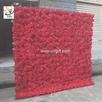 Buy cheap UVG PTR1103 Wedding decoration materials artificial flower for wall decoration 6ft high from wholesalers