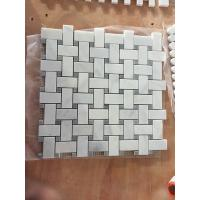 Buy cheap Decorative White  Marble Mosaic Tile, Oriental White Marble Mosaic, Interlocking Mosaic Marble Stone Mosaic Tile from wholesalers