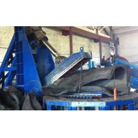 Buy cheap 4M Huge OTR Tyre Cutter Machine Tire Recycling Plant 30 Tires Per Hour from wholesalers