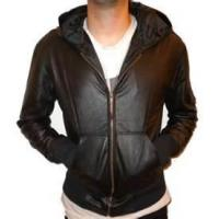 Buy cheap 60 XXXL soft thin 100% sheepskin leather jacket for men / warp knit fabric for autumn from wholesalers