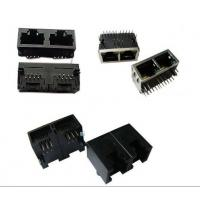 Buy cheap Vertical Entry 8P8C RJ45 Modular Plugs Connector / Female Rj45 Jack Single Port from wholesalers