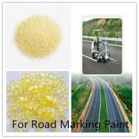 Buy cheap Road Marking Paint Hot melt adhesives light yellow  Pertroleum Hydrocarbon Resin C5 color3#-4# granule soft point 97-103 from wholesalers