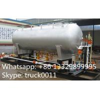 Buy cheap best price20ton Skid Filling Plant With LPG Storage Tank for Camp Cylinder,Kitchen Cylinder,Industrail Cylinder for sale from wholesalers
