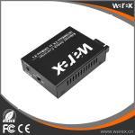Buy cheap Unmanaged Gigabit Ethernet Media Converter 1X 10/100/1000Base-T RJ45 to 1X 1000Base-X SC/FC/ST, Dual Fiber, 1550nm 60km. from wholesalers