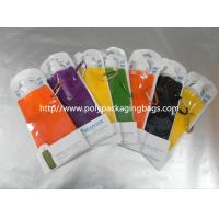 Buy cheap 500ml Traveling / Sports Portable Water Bag Spouted Pouches Custom from wholesalers