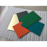 Buy cheap Polyester Paint Aluminum Sandwich Panel 2000 * 5700 * 4mm With 0.30mm Alu product