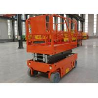 Buy cheap Scissor Shear Fork Lift Work Platform Safety With Emergency Lowering Device from wholesalers
