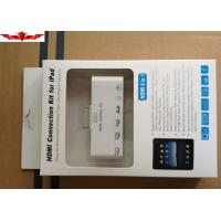 Buy cheap 6 in 1 hdmi adapter connection kit AV USB Cable Camera Connection Kit For IPAD1 2 3 IPHONE from wholesalers