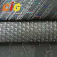 100% Polyester 150cm width 230gsm weight tatting auto fabric for car seat cover