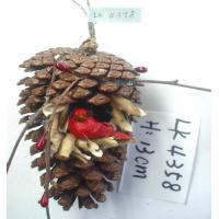 Buy cheap Hanger of Christmas tree,Christmas ornament,christmas decoration,christmas gifts,pine seeds,folk art,artificial crafts from wholesalers