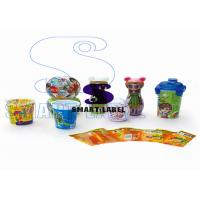 Buy cheap Clear OPS / PVC Heat Shrink Sleeve Tamper Seal Labels for Toys Package 6 Colors from wholesalers