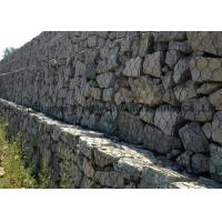 Buy cheap Flood Bank  Protection Gabion Wire Mesh Wear And Abrasion Resistance For Stone Box from wholesalers