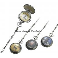 Buy cheap Pocket Watch With Chain, Your Picture Can Put on The Cover (M003) from wholesalers