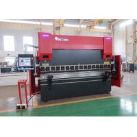 Buy cheap 8 Axis Automatic CNC Press Brake Machine 8 Axis With HOERBIGER Servo Hydraulic System from wholesalers