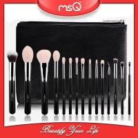 Buy cheap MSQ Hot sale 15pcs professional cosmetics brush private label makeup brush set from wholesalers