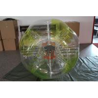 Buy cheap Transparent inflatable bubble soccer human sized inflatable ball from wholesalers