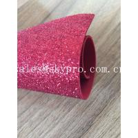 Buy cheap Sparkly Red Printed Glitter EVA Foam Sheet With Non Discoloring Adhesive Ethylene Vinyl Acetate from wholesalers