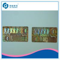 Buy cheap Laser Custom Hologram Stickers , Air Conditioning Warranty Stickers Roll from wholesalers
