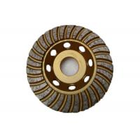 Buy cheap 4.5 Inch Diamond Cup Grinding Disc With Arbor 22.23mm High Performance from wholesalers