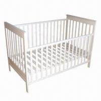 Buy cheap Baby Cot/Crib/Bed, Made of Solid Beech Wood from wholesalers