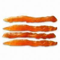Buy cheap Smoked Chicken Strips Pet Food, High in Protein, Suitable Treat Especially for Small Dogs from wholesalers
