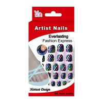 Buy cheap Polka Dot Glitter Artificial Nail from wholesalers