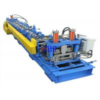 Buy cheap Automatic C Purlin Roll Forming Equipment 3 Phase 15 Meters Per Minute product