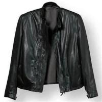 Buy cheap Winter S M L XL XLL Fleece Lined Leather cowhide 100% poly canvas jacket men from wholesalers