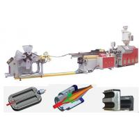 Buy cheap single-wall plastic corrugated flexib hose extrusion production  line 2mm 32mm 63mm 110mm from wholesalers
