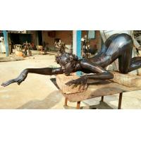 Buy cheap Customized bronze sculpture for artist from wholesalers