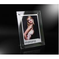 Buy cheap Clear Acrylic Frame wholesales for home decoration from wholesalers