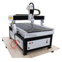 Buy cheap 900*1500mm CNC Wood Advertisement Router with Vacuum Table/Mach3 Control System product