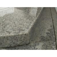 Buy cheap Light Grey Stone Stair Treads And Risers , 7.5 Hardness Granite Stone Stairs from wholesalers