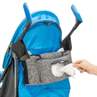 Buy cheap Universal Baby Stroller Organizer Bag With Insulated Cup Bottle Holders and Wipes Pouch from wholesalers