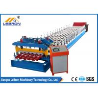 Buy cheap Color Steel Glazed Tile Roll Forming Machine 16 Stations High Production Efficiency from wholesalers