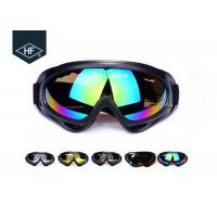 Buy cheap ABS Plastic Frame Motorcycle Helmet Accessories , PC Lens X400 Atv Helmet Goggles from wholesalers