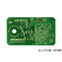 Buy cheap Immersion Gold Fr4 Copper Clad Circuit Board PCB 2 Layers For Security product