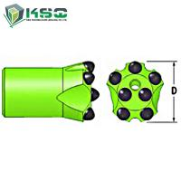 Buy cheap H25 - H-thread Button Drill Bit Dia.35mm-57mm Drill Bit For Mining product