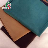 Buy cheap colorful 100% polyester knitted leather micro suede velvet sofa fabric suede fabric for sofa from wholesalers