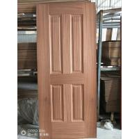 Buy cheap Low Moisture Content Decorative Door Skins , Door Veneer Skins Natural Sapele Moulded product
