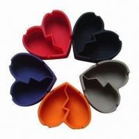China Harmless Silicone Ashtrays with High Temperature Insistence, FDA and LGFB Certified on sale