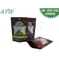 Buy cheap FDA Food Packaging Bags Plastic Laminated Scent Proof Doypack For Bean / Jujube from wholesalers