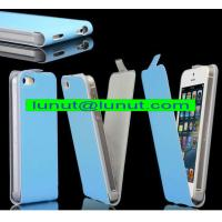 Buy cheap Leather iphone case,luxury leather iphone5 case with high quality and competitive price from wholesalers