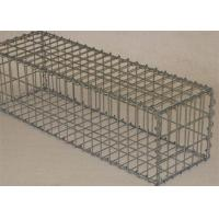 Buy cheap Welded Retaining Wall Gabion Baskets Customized Size Long Life Span from wholesalers