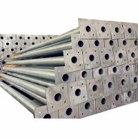 Buy cheap Steel,Rolled steel ,Alloy street lighting pole Material and Round Type Octagonal poles in Tajikistan from wholesalers